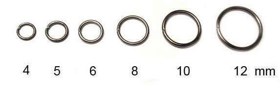 Spojovací kroužek, gunmetal, 5 mm