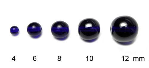 Kulička čirá tm. modrá