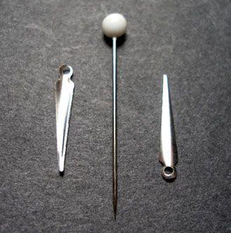 kopíčko kovové menší postříbřené
