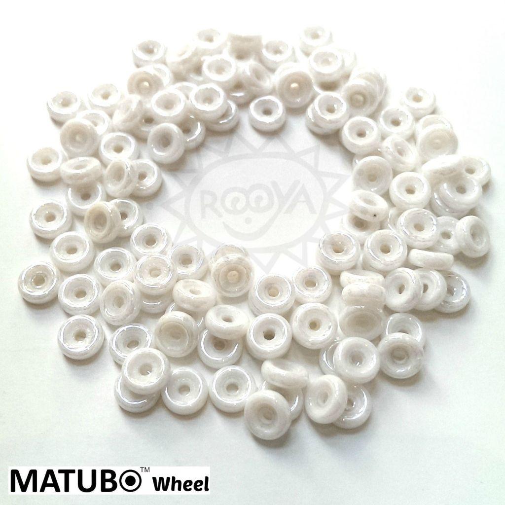 Wheel 6 mm křída bílý listr