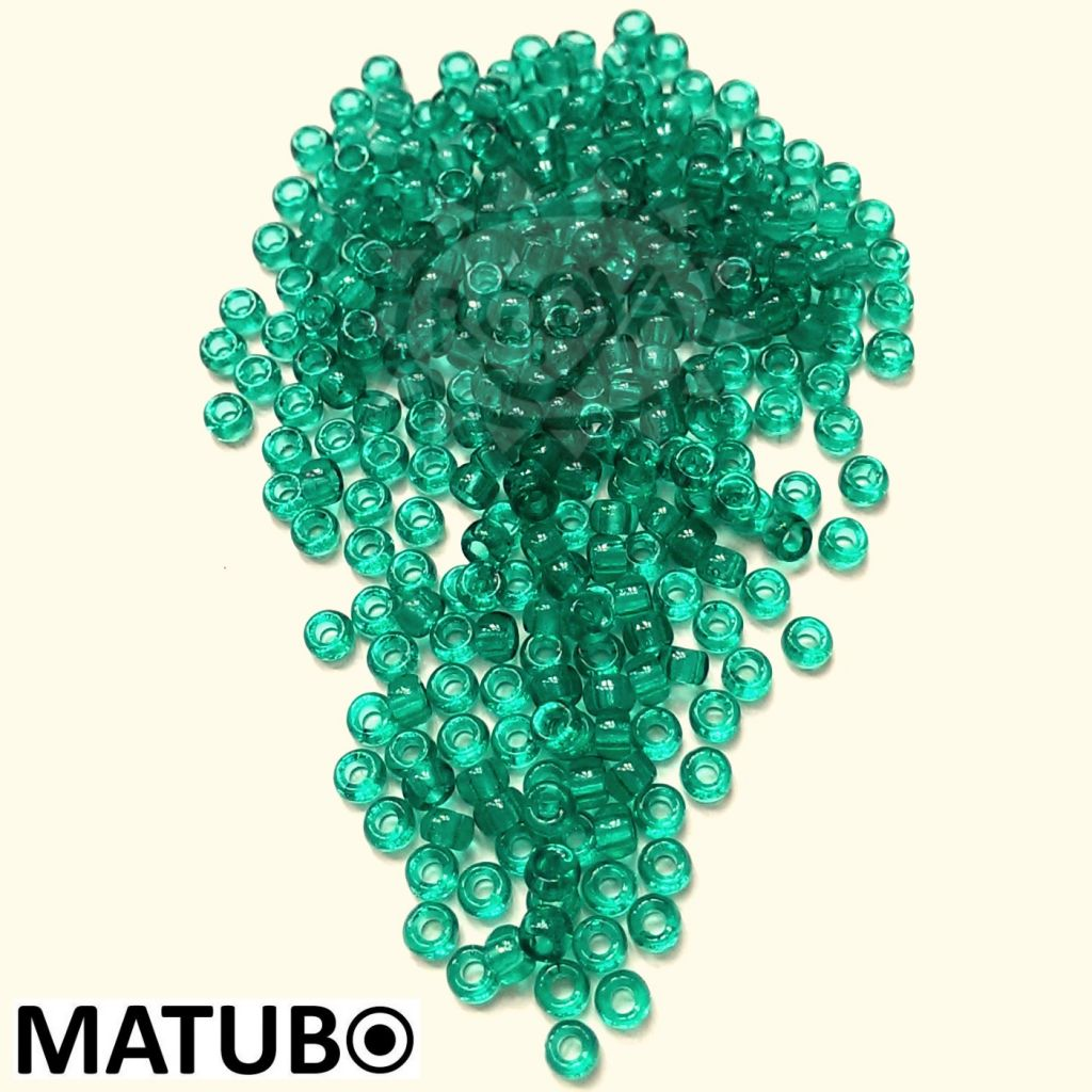 Matubo 7/0 emerald
