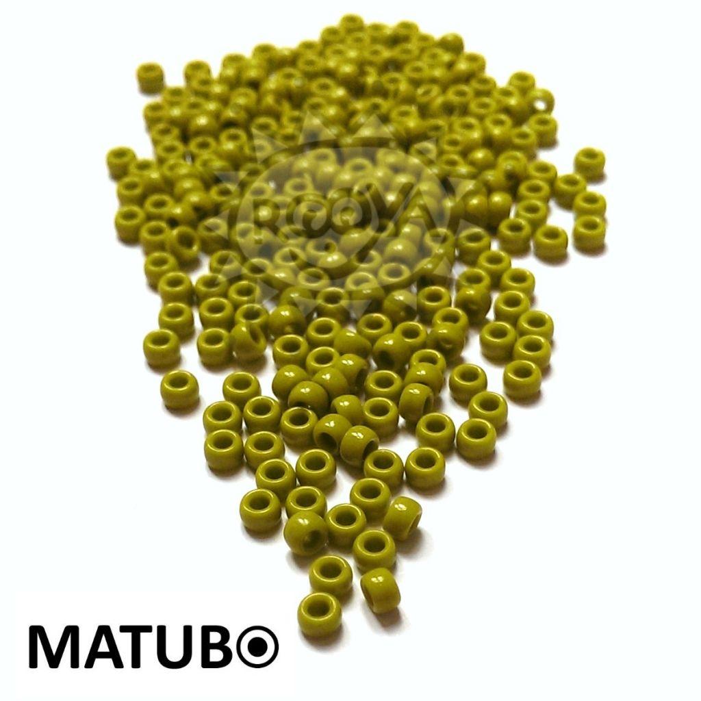 Matubo 7/0 zelená sytá