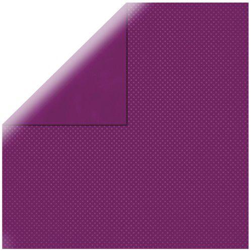 SP Double Dot, rotlila, 30,5x30,5cm, 190g/m2