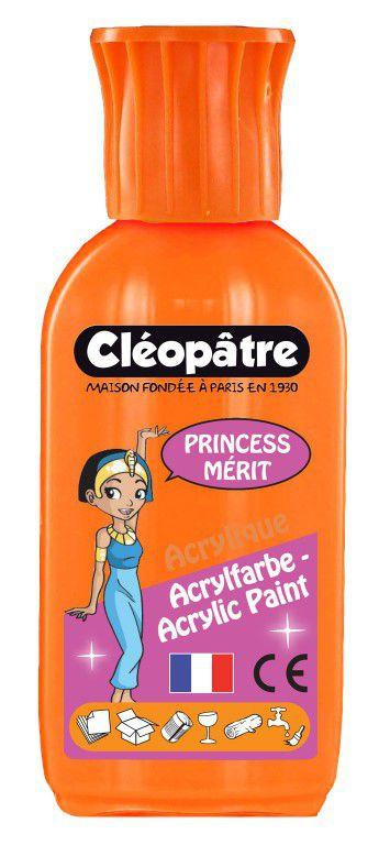 Akrylová barva PRINCESS MERIT 55ml Oranžová