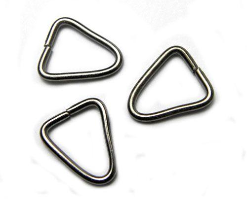 Spoj. trojúhelník, gun metal 14 mm