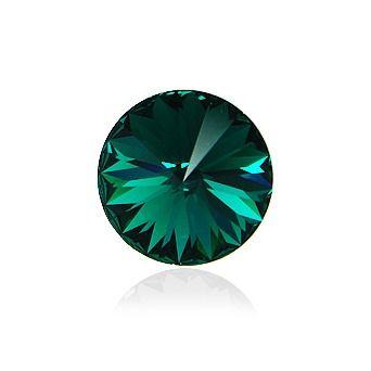 Swarovski® Rivoli Emerald 12 mm