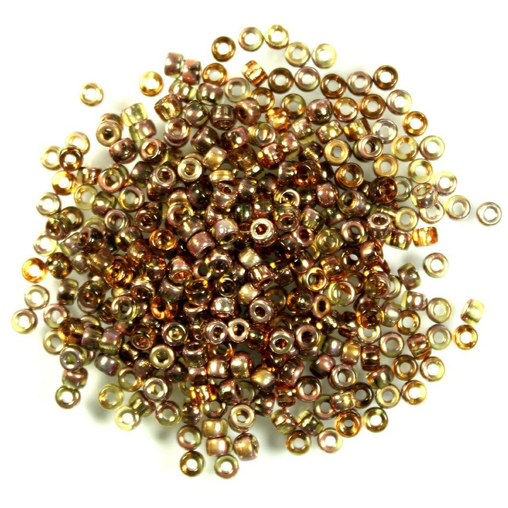Matubo 8/0 topas gold capri
