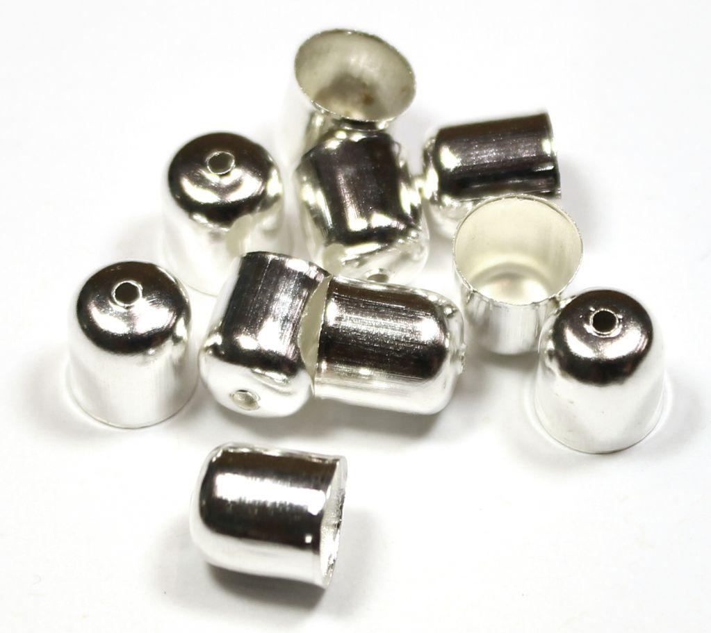 Kaplík hladký stříbrný 5,5 mm