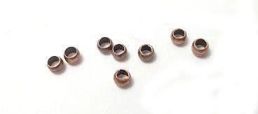 Zamačkávací rokajl, staroměď, 1,3 mm