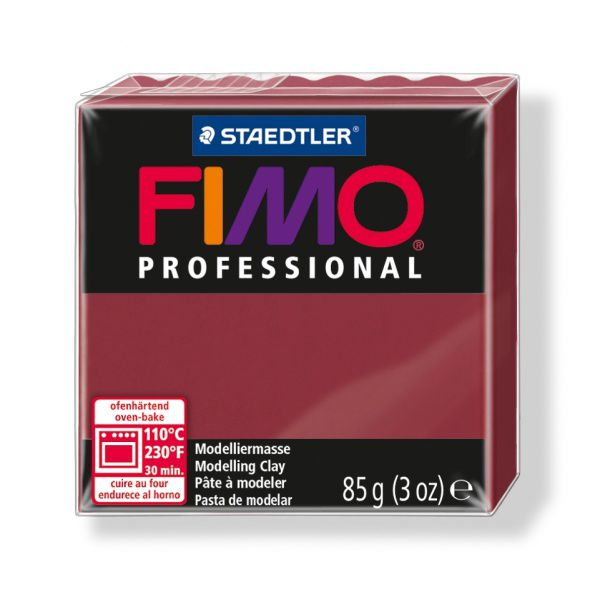 FIMO Professional 85g bordó