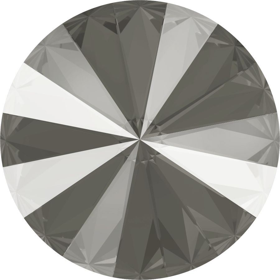 Swarovski® 12 mm Dark Grey