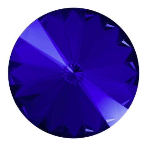 Swarovski® Rivoli majestic blue10 mm